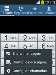 Samsung S5310B Galaxy Pocket Neo - Chamadas - Como bloquear chamadas de um número específico - Etapa 5