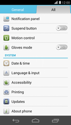 Huawei Ascend P7 - Network - Installing software updates - Step 5