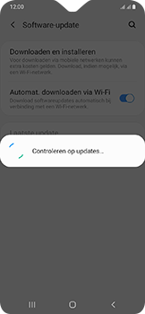 Samsung Galaxy A20e - Software update - update installeren zonder PC - Stap 6