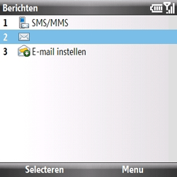Samsung B7330 Omnia Pro - E-mail - hoe te versturen - Stap 4