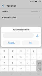 Huawei P10 Lite - Voicemail - Manual configuration - Step 8