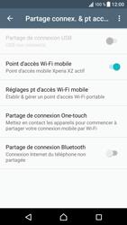 Sony Xperia XZ (F8331) - Internet et connexion - Partager votre connexion en Wi-Fi - Étape 13