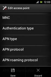 Sony ST23i Xperia Miro - Internet - Manual configuration - Step 16