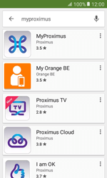 Samsung Galaxy Xcover 3 VE - Applications - MyProximus - Step 6