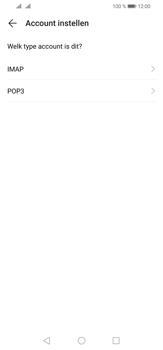Huawei P30 Lite - E-mail - e-mail instellen: POP3 - Stap 8