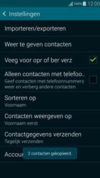 Samsung Galaxy Alpha 4G (SM-G850F) - Contacten en data - Contacten kopiëren van SIM naar toestel - Stap 12