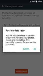 HTC 10 - Device maintenance - How to do a factory reset - Step 8
