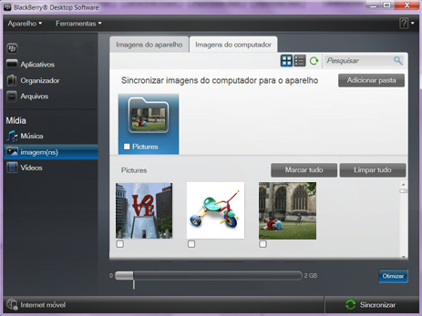 BlackBerry 9620 - Conexão com pc - Como transferir arquivos do computador para seu aparelho - Etapa 8