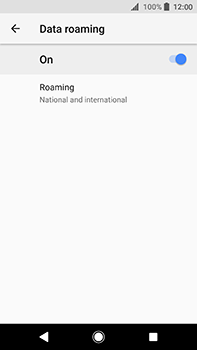 Sony Xperia XA2 Ultra - Internet - Disable data roaming - Step 7