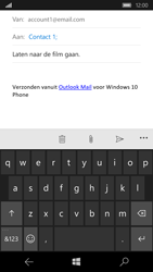 Microsoft Lumia 650 - E-mail - Bericht met attachment versturen - Stap 8