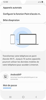Samsung Galaxy A40 - Internet - comment configurer un point d'accès mobile - Étape 8