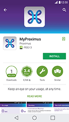 LG X Cam - Applications - MyProximus - Step 7
