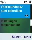Nokia 113 - Internet - Handmatig instellen - Stap 10