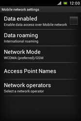 Sony ST21i Xperia Tipo - Internet - Manual configuration - Step 6