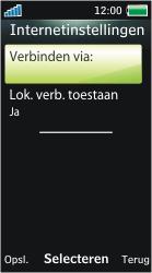 Sony Ericsson U10i Aino - E-mail - Handmatig instellen - Stap 20