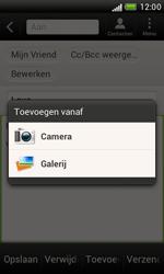 HTC T328e Desire X - E-mail - hoe te versturen - Stap 11