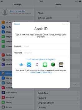 Apple iPad Air - iOS 11 - Device maintenance - Create a backup of your data - Step 4