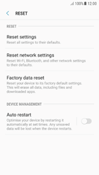 Samsung A510F Galaxy A5 (2016) - Android Nougat - Device - Reset to factory settings - Step 7