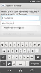 Sony D6503 Xperia Z2 - E-mail - Account instellen (IMAP met SMTP-verificatie) - Stap 5