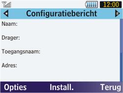 Samsung S3570 Chat 357 - Internet - automatisch instellen - Stap 6