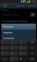 Samsung Galaxy Fresh Duos - Chamadas - Como bloquear chamadas de um número -  10