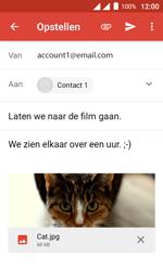Alcatel Pixi 4 (4) - E-mail - Hoe te versturen - Stap 16