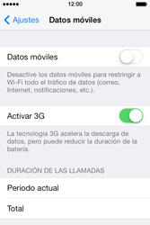 Apple iPhone 4S iOS 7 - Mensajería - Configurar el equipo para mensajes multimedia - Paso 4