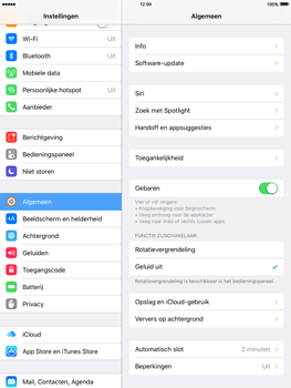 Apple iPad mini iOS 9 - WiFi en Bluetooth - Bluetooth koppelen - Stap 3