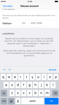 Apple iphone 6 plus met ios 10 model a1524 - Applicaties - Account aanmaken - Stap 22