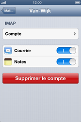 Apple iPhone 3G S - E-mail - Configurer l
