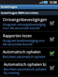 Samsung S5570 Galaxy Mini - MMS - probleem met ontvangen - Stap 4