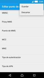 Sony Xperia M4 Aqua - Internet - Configurar Internet - Paso 16