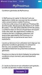 Apple iPhone 5s iOS 9 - Applications - MyProximus - Étape 11