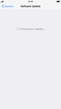 Apple iPhone 7 Plus - iOS 12 - Device - Software update - Step 6