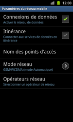 Samsung I8530 Galaxy Beam - MMS - configuration manuelle - Étape 7