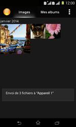 Sony Xpéria E1 Dual - Photos, vidéos, musique - Envoyer une photo via Bluetooth - Étape 11