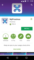 Wiko U-Feel Lite - Applications - MyProximus - Step 7