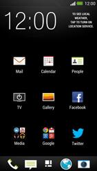 HTC One - E-mail - Manual configuration POP3 with SMTP verification - Step 4