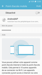 Samsung Galaxy S7 - Internet et connexion - Partager votre connexion en Wi-Fi - Étape 10
