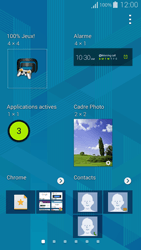 Samsung Galaxy Alpha - Applications - Personnaliser l