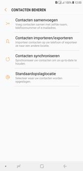 Samsung galaxy-j4-plus-dual-sim-sm-j415fn - Contacten en data - Contacten kopiëren van toestel naar SIM - Stap 7