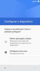Sony Xperia XZ - Android Nougat - Primeiros passos - Como ligar o telemóvel pela primeira vez -  7