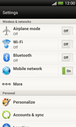 HTC T320e One V - Bluetooth - Pair with another device - Step 4