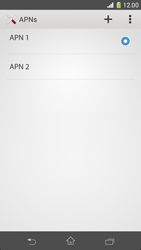 Sony Xperia Z1 Compact D5503 - Mms - Manual configuration - Step 16