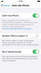 Apple iphone-se-met-ios-13-model-a1723 - Beveiliging en ouderlijk toezicht - Zoek mijn iPhone inschakelen - Stap 13