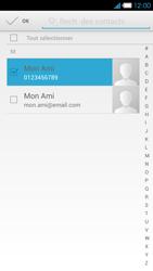 Bouygues Telecom Ultym 4 - Contact, Appels, SMS/MMS - Envoyer un SMS - Étape 7