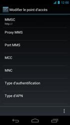 Samsung I9250 Galaxy Nexus - Internet - Configuration manuelle - Étape 9