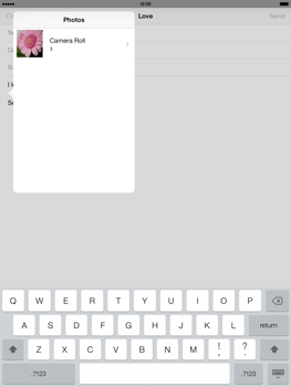 Apple iPad 4th generation iOS 7 - Email - Sending an email message - Step 10