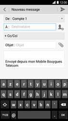 Bouygues Telecom Ultym 5 - E-mails - Envoyer un e-mail - Étape 5