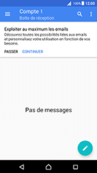 Sony Xperia X - Android Nougat - E-mail - Configuration manuelle - Étape 5